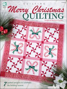 Merry Christmas Quilting : 7 Quilted Projects to Celebrate the Holiday Season by Barbara Clayton Paperback) for sale online Christmas Sewing, Christmas Projects, Christmas Quilting, Christmas Patchwork, Handmade Christmas, Holiday Crafts, Christmas Ideas, Quilting Projects, Quilting Designs