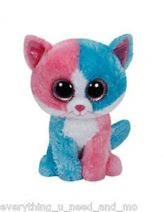 *Ty Beanie Boos*  Type: Cat Name: Fiona Birthday:  Introduced:  Retired: