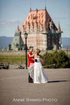 Wedding at le Chateau Frontenac