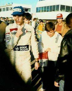 a young Ayrton Senna
