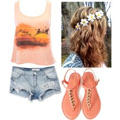 """""""Teen Outfit #80"""" by kaelarabbit on Polyvore"""