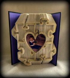 Autism Frame combi cut and fold book folding pattern 395 pages 22cm book