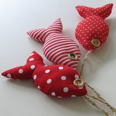 Fabric fishy bunch - red | Flickr - Photo Sharing!