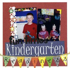 Scrappin' Sports & More: Kindergarten Readiness