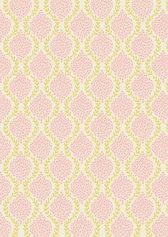 """""""Floral Garland Pink"""" Craft Cotton"""