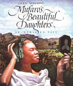 Mufaro's Beautiful Daughters: An African Tale (Picture Puffin): John Steptoe: 9780140559460: Amazon.com: Books