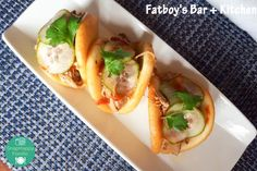 Sticky Honey Bao Buns from Fatboy's Kitchen & Bar in New London, CT