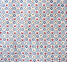 Vintage 1930's Feed Sack Cotton Fabric Pale by kelleystreetvintage, $16.50