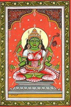 Matangi - The Outcaste Goddess (Ten Mahavidya Series)