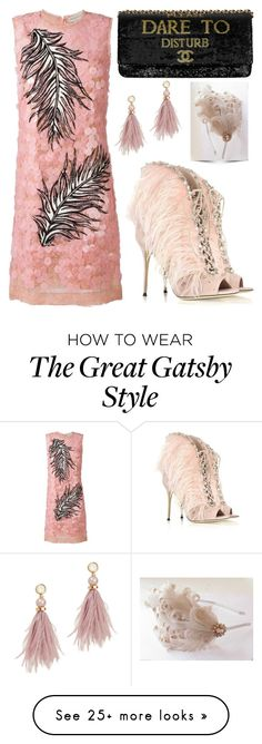 """Sequined Song"" by creation-gallery on Polyvore featuring Emilio Pucci, Lizzie Fortunato and Giuseppe Zanotti Great Gatsby Fashion, 20s Fashion, The Great Gatsby, How To Wear Heels, Gatsby Style, Party Looks, Emilio Pucci, Giuseppe Zanotti, Sexy"