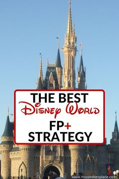 My strategy for using Disney's FP+ allows you to do more of the must-dos at Disney and less time standing in lines. #disneyworld #disneytravel