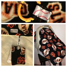 Infant Carseat Canopy  SF GIANTS  weighted by BabyBsCanopies, $65.00 @Babylist Baby Registry