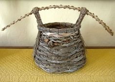 But we did bring home a new basket from Samuel Yao (he has no website yet).  Samuel collects naturally shed palm tree debris from a varietyofpalms, mainly fromFlorida, and uses the materialto weavehisamazing baskets. The handle above is the dried stem of a palm frond, beautifully shaped by nature