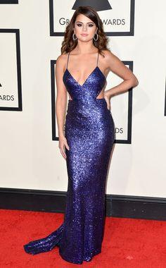 Selena Gomez en Calvin Klein aux Grammy Awards 2016