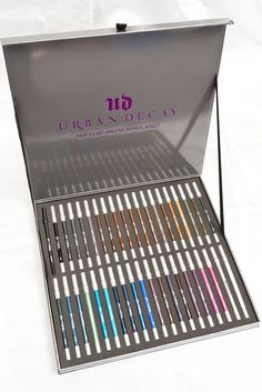Urban Decay 24/7 Glide-On Eye Pencil Vault... If I ever win the lottery, I would love to have this. The best pencil eyeliners ever!