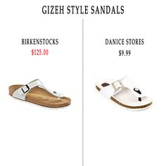 How to get the 'Gizeh Style Sandals' look for less