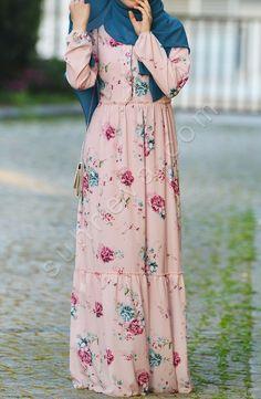 Modern Hijab Fashion, Abaya Fashion, Fashion Mode, Muslim Fashion, Fashion Dresses, Stylish Dresses For Girls, Modest Dresses, Casual Dresses, Dress With Cardigan
