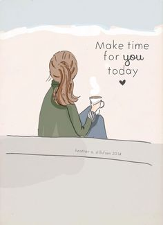 Wall Art for Women  Make Time For You by RoseHillDesignStudio