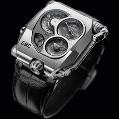 Urwerk EMC Titanium and Steel