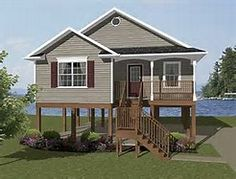 17 Best Elevated House Plans Images On Pinterest Elevated House