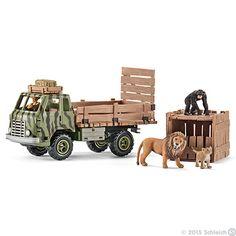 Schleich, Safari animal rescue truck