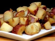 Beer Steamed Potatoes with Rosemary
