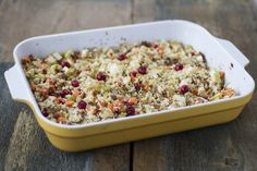 Apple-Cranberry Holiday Stuffing | Autoimmune Paleo