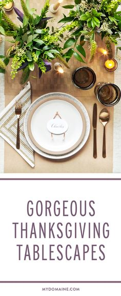 Let your table shine this Thanksgiving