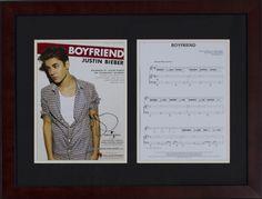 School Auction Ideas Justin Bieber Autographed Sheet Music #school #fundraising #auction #schoolauctionideas https://www.cfr1.org/school-auction-ideas/