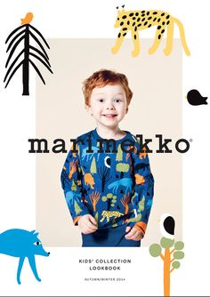 Marimekko Kids Collection - NordicDesign - Design for Life Kids Graphic Design, Web Design, Email Design, Nordic Design, Marimekko, Kids Collection, Branding Design, Logo Design, Kids Graphics