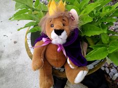 TY Plush Collectable 'Sire' the Lion King by Blissfulcollectables on Etsy