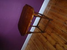 wooden square occasional/side table Edinburgh City Centre Picture 1
