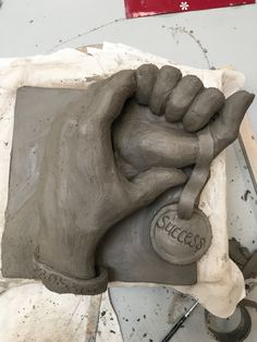 Clay hands by Nicky Heard Art Work, Clay, Hands, Artwork, Clays, Work Of Art, Modeling Dough