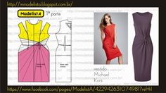 Modelista- a great website the breaks down clothes into pattern charts Fashion Sewing, Diy Fashion, Ideias Fashion, Fashion Outfits, Sewing Clothes, Diy Clothes, Clothes For Women, Dress Sewing Patterns, Clothing Patterns