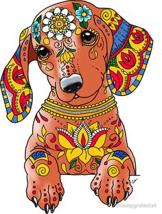 """Explore our internet site for more details on """"dachshund puppies"""". It is an exceptional spot to get more information. Dachshund Drawing, Arte Dachshund, Dachshund Love, Daschund, Dachshund Tattoo, Dachshund Puppies, Weenie Dogs, Doggies, Dog Paintings"""