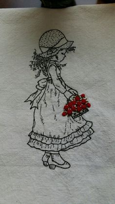 Wonderful Ribbon Embroidery Flowers by Hand Ideas. Enchanting Ribbon Embroidery Flowers by Hand Ideas. Embroidery Needles, Crewel Embroidery, Silk Ribbon Embroidery, Vintage Embroidery, Embroidery Patterns, Embroidery Techniques, Craft Patterns, Needlework, Creations