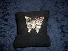 Alpaca Silver Mexico Butterfly Pin As Is by 5DollarMaddness, $5.00