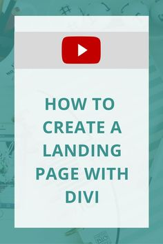 Really, you can use landing pages for all kinds of things: to promote a specific offer, to build excitement before you launch something, to spread awareness about events...and the list continues. Since landing pages are essential in any business owner's online marketing toolkit, it's helpful to know how to DIY one on a whim.