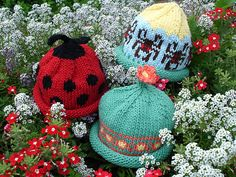 Baby hats! So cute, I want one!
