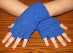 How to Make Fingerless Gloves: 12 Steps (with Pictures) - wikiHow