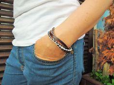 Men's Bracelet mens bracelet mens leather by leatheristanbul