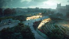 WHY wins Edinburgh's Ross Pavilion contest with garden-topped design