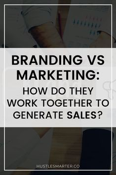 When we're getting started in business, the difference between branding and marketing seems incredibly vague. It can be even harder to see how the whole machine works together to create a relatable brand that sells. Marketing Branding, Marketing Ideas, Business Branding, Social Media Marketing, Digital Marketing, Business Launch, Business Help, Online Business, List Of Hashtags
