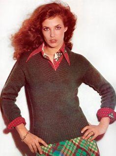 Jane Birkin  — The OneJane Birkin for Vogue by Guy Bourdin, 1973Full serie