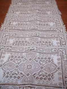 ANTIQUE AMAZING MADEIRA hand embroiderered by JacquelineMeuross