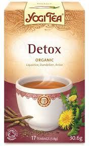Herbata Detox oczyszczająca ekspres 17T YOGI TEA BIO | EkoSklep - Zdrowa Żywność