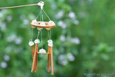 DIY Fairy Garden wind chimes, by Whatwillwedotoday on Instructables
