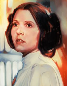 Princess Leia Study