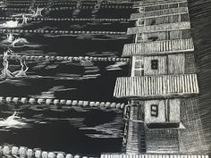Scratchboard Art, Black And White Drawing, White Clay, Ink, Drawings, Artist, Pictures, Photos, Artists