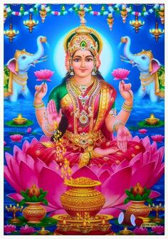 Prints, Posters & Paintings, Hinduism, Religion & Spirituality, Collectibles Page 31 Indian Goddess, Mother Goddess, Goddess Lakshmi, Divine Mother, Durga Images, Lakshmi Images, Lord Ganesha Paintings, Lord Krishna Wallpapers, Hindu Dharma